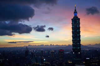 Taipei 101, among the tallest buildings in Taiwan