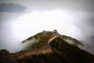 mountains-clouds-historical-great-wall-of-china