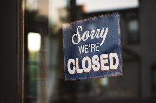sorry-we-re-closed-wooden-signage